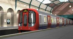 New air-conditioned tube train