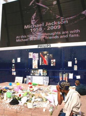 Michael Jackson dies at 50