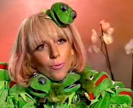 k is for kermit the frog lady gaga az capital