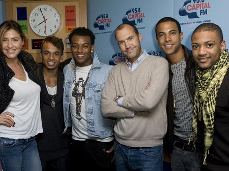 JLS chat to Johnny & Lisa