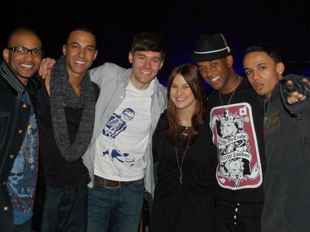JLS at the Hammersmith Apollo