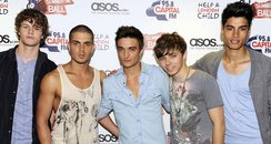 The Wanted arriving at this years Sumemrtime Ball