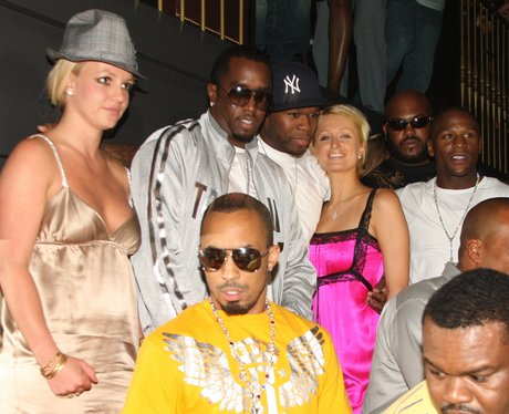 Britney Spears and friends