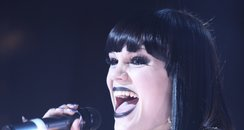 jessie J live at the Brits Awards Nominations 2011