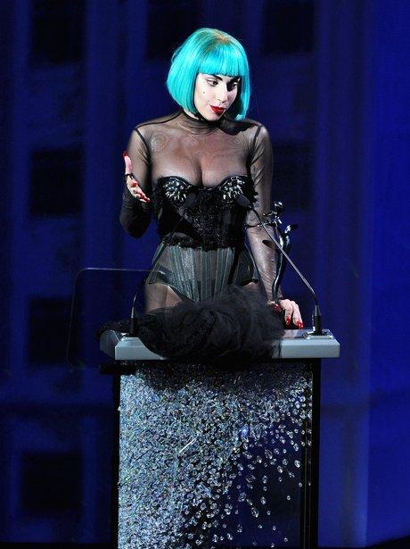 Lady Gaga attends Fashion Awards