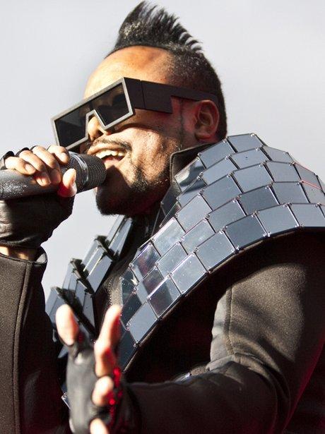 Black Eyed Peas at Alton Towers