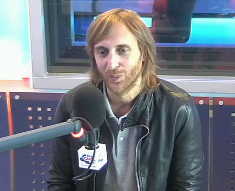 David Guetta with Dave Berry