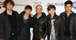 The Wanted arrive at the 2011 Jingle Bell