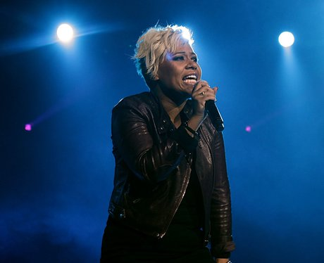 Emeli Sande performing live at the 2011 Jingle Bell Ball at the O2 Arena