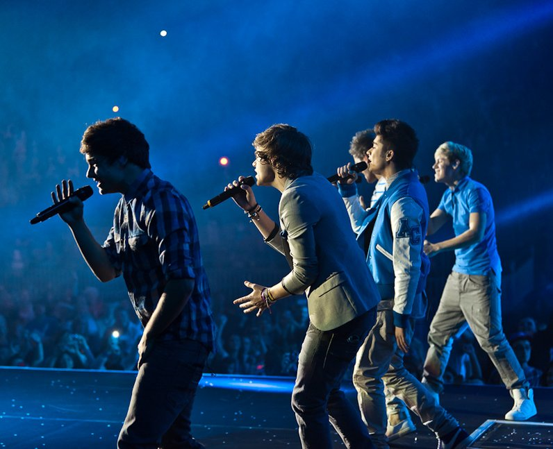 One Direction live at the 2011 Jingle Bell Ball