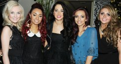 Tulisa and Little Mix dinner