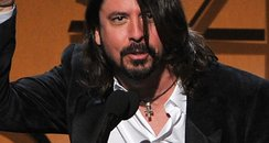 Dave Grohl at the Grammy Awards 2012