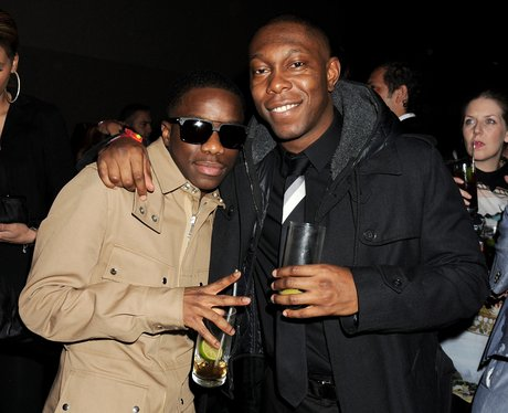 Tinchy Stryder and Dizzee Rascal BRIT Awards 2012