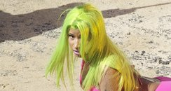 Nicki Minaj Video Shoot