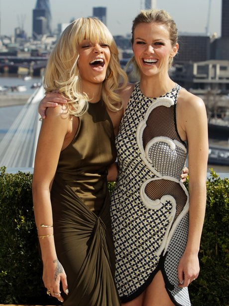 Brooklyn Decker and Rihanna