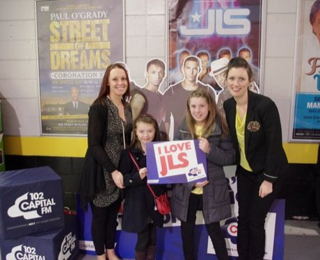 JLS Manchester Arena Tour Friday