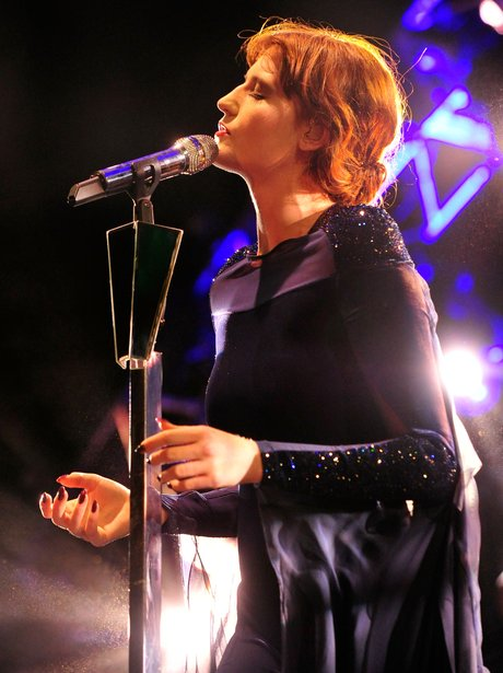 Florence Welch performs onstage at the 2012 Coache