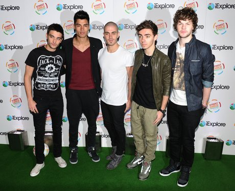 The Wanted arrive for a charity event