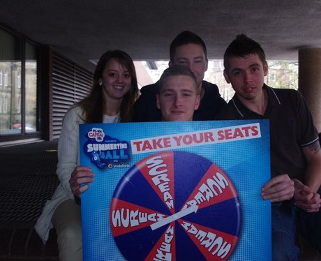 Take your seat to WIN STB Professor Green Gig