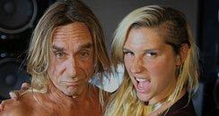 Kesha and Iggy Pop on Twitter