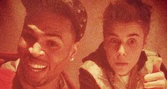 justin bieber and chris brown