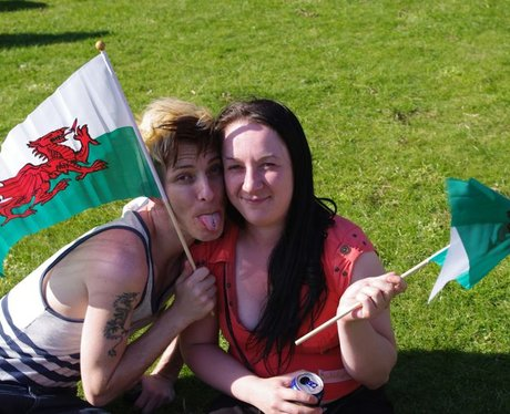 Olympic Torch Relay in Cardiff