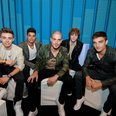 The Wanted backstage at the Summertime Ball 2012