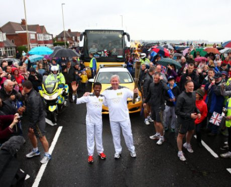 Olympic Torch Relay - Gateshead to Durham