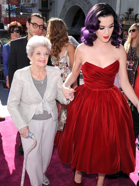 Katy Perry and her grandma attend Part Of Me 3D premiere