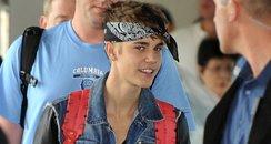 Justin Bieber with Bandana