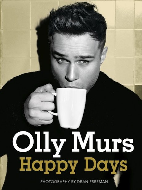 Olly Murs' happy days Autobiography Cover