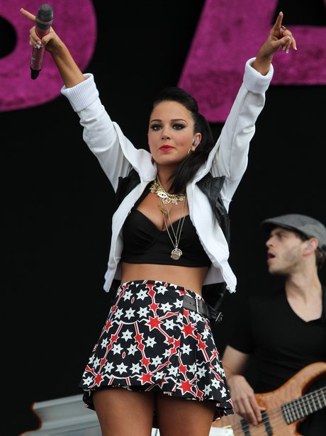 Tulisa Contostavlos Performs At The Wireless Festi