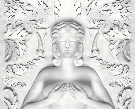 Knaye West 'Cruel Summer' album cover.