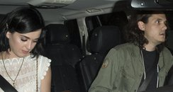 Katy Perry and John Mayer in a car together