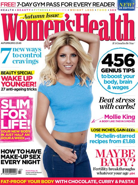 Mollie King in Women's Health