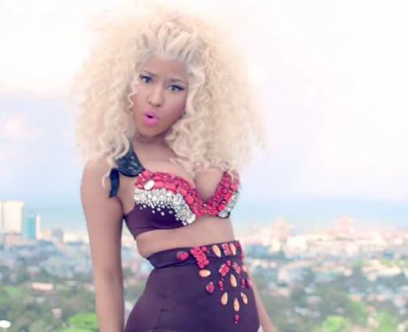 Nicki Minaj 'pound The Alarm'