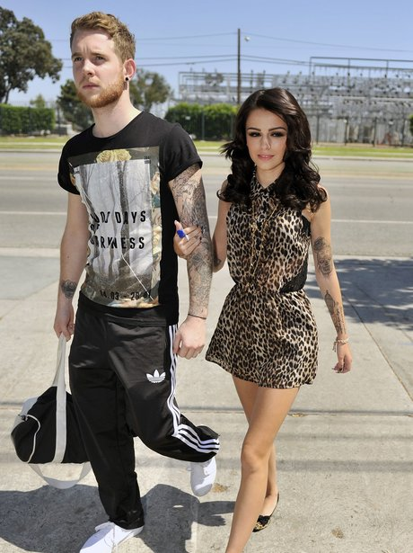 Cher Lloyd and Craig Monk in Los Angeles.