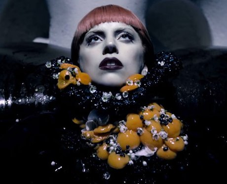 Lady Gaga in her Fame perfume advert