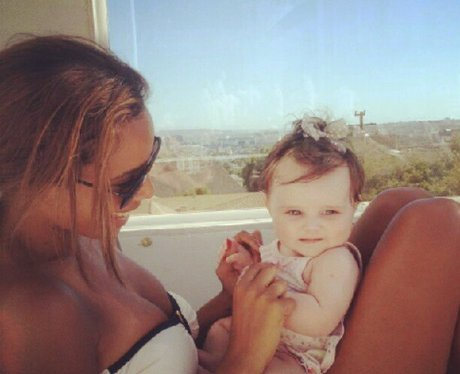 Rochelle Wiseman and Aoife Belle in Los Angeles.