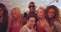 Tinie Tempah and The Spice girls