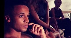 Aston Merrygold topless