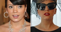 Lady Gaga and Lily Allen