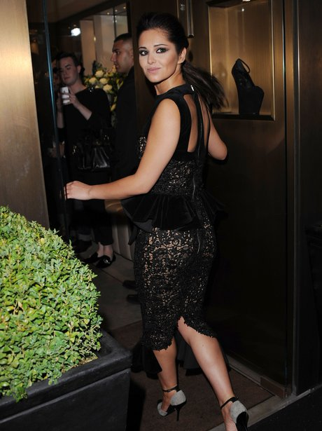 Cheryl Cole attends Fashion Party