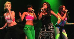 Little mix perform  live on stage
