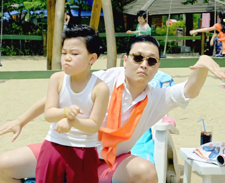 PSY's music video for 'Gangnam Style'.