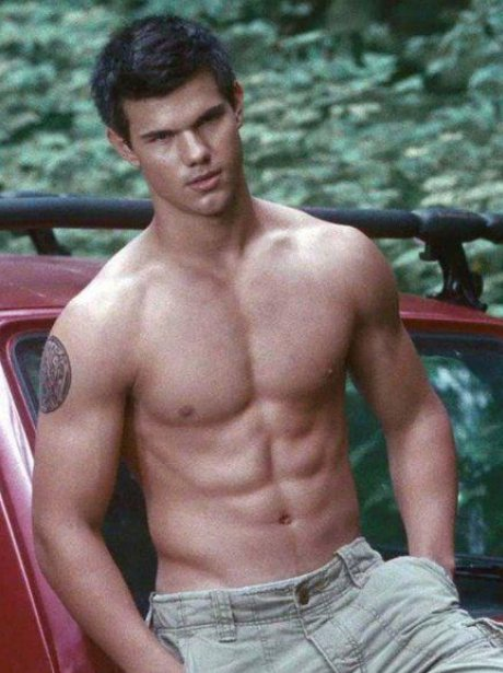 'Twilight' Film Still Taylor Lautner