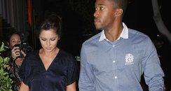 Cheryl Cole and Tre Holloway in LA
