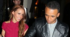 Aston Merrygold and new girlfriend Sarah Richards
