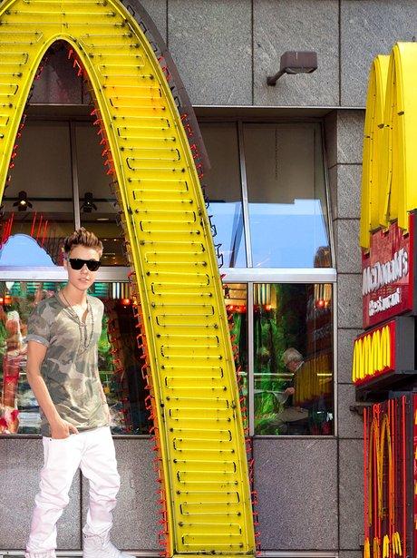 Justin Bieber McDonalds