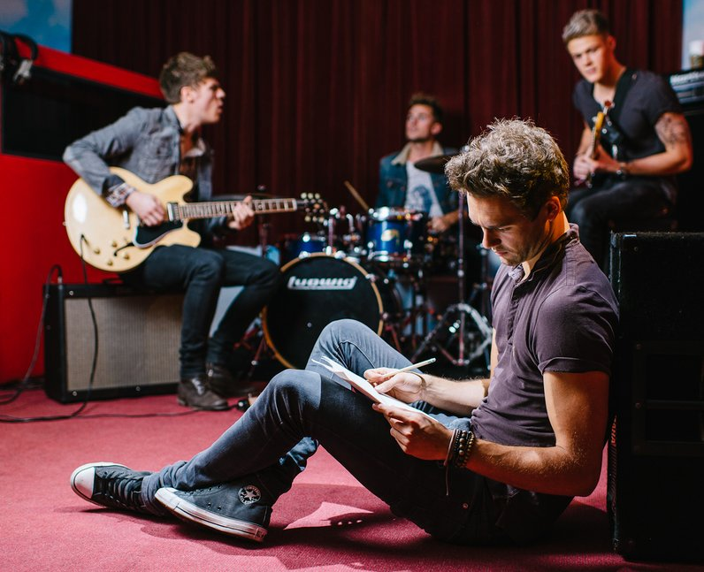 Lawson's Andy Brown writing son lyrics